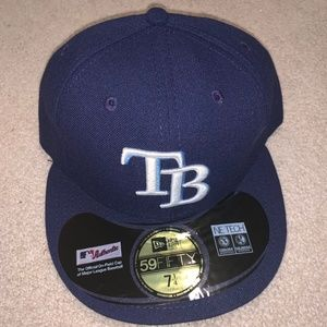NEW ERA 59FIFTY Tampa Bay Rays Fitted Hat